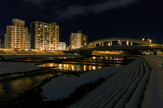 豊平川 幌平橋