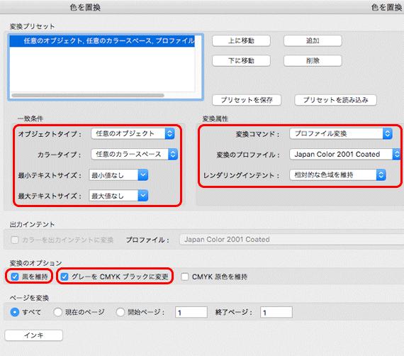 パブリッシャー pdf 変換 cmyk